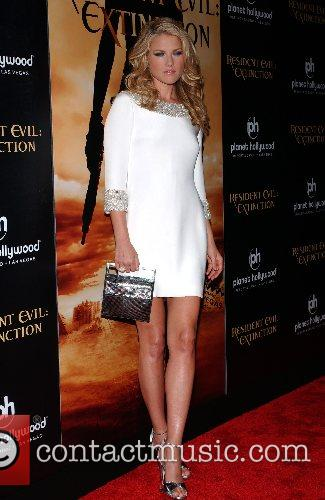 Ali Larter World Premiere of 'Resident Evil: Extinction'...