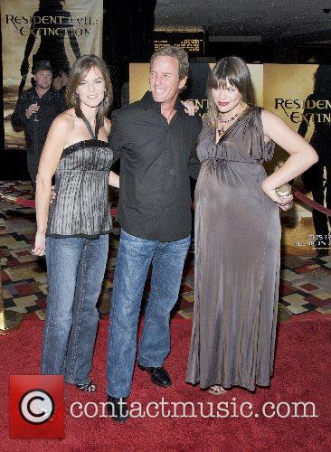 Susan Walters, Linden Ashby and Milla Jovovich World...