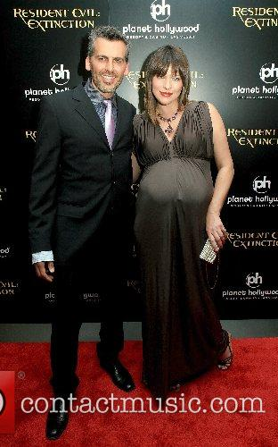 Oded Fehr and Milla Jovovich  World Premiere...
