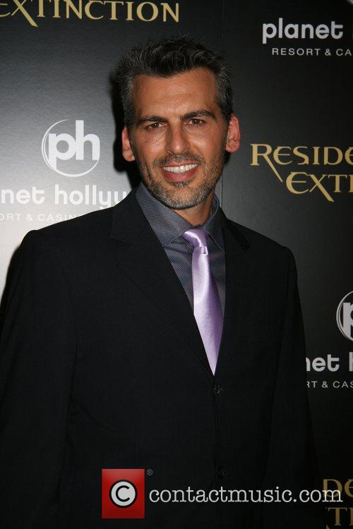 Oded Fehr Resident Evil: Extinction World Premiere at...