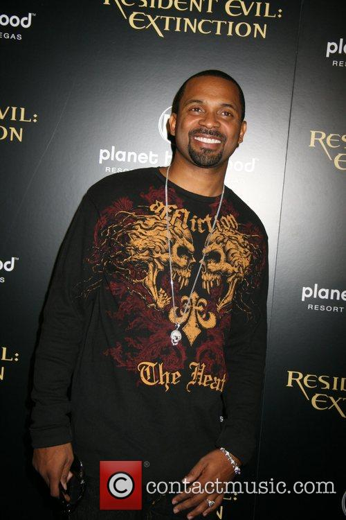 Mike Epps Resident Evil: Extinction World Premiere at...