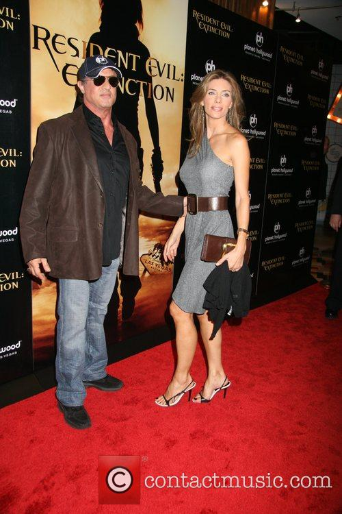 Resident Evil: Extinction World Premiere at Planet Hollywood...