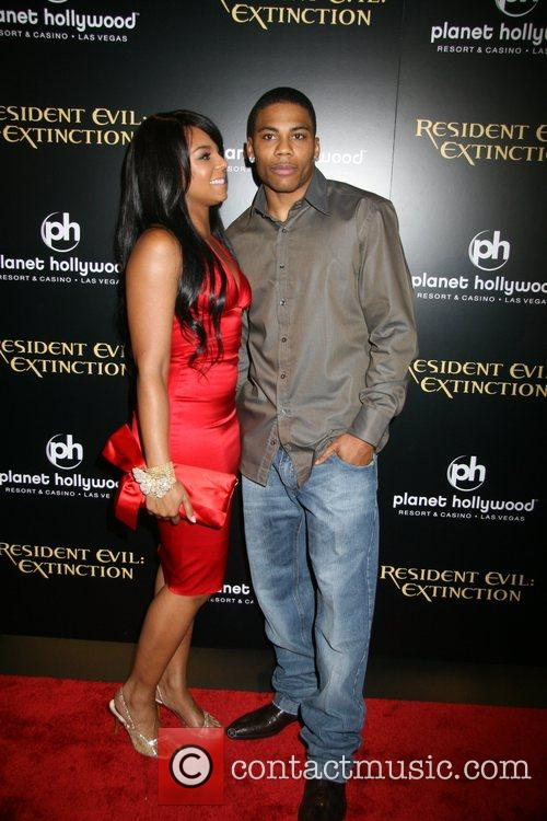 Ashanti and Nelly Resident Evil: Extinction World Premiere...