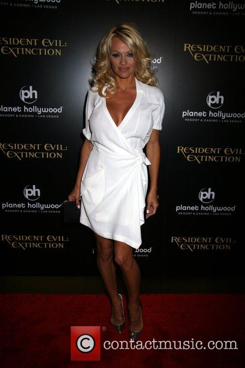Pamela Anderson, Las Vegas, Planet Hollywood
