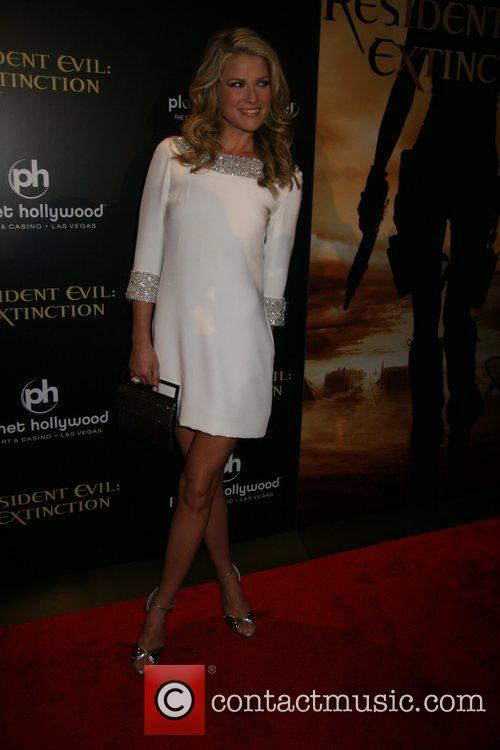 Ali Larter Resident Evil: Extinction World Premiere at...