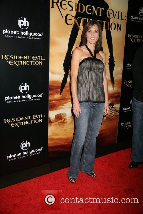 Susan Walters Resident Evil: Extinction World Premiere at...