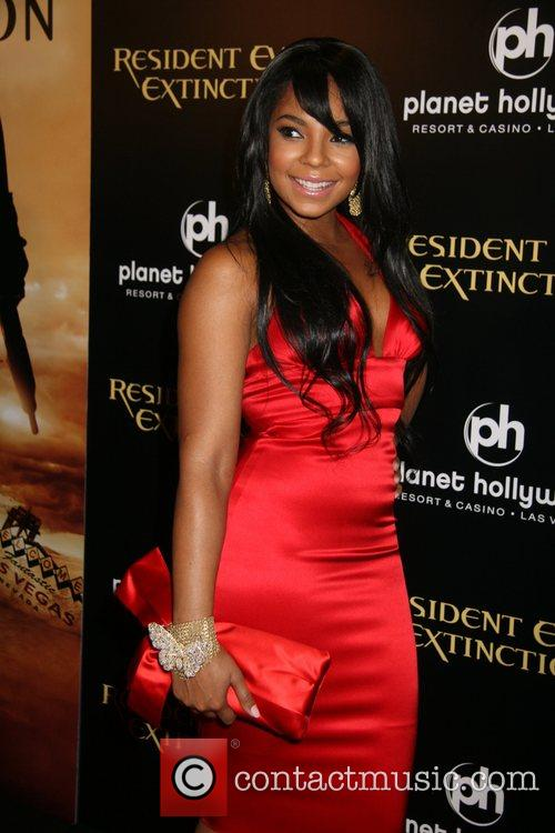 Ashanti Resident Evil: Extinction World Premiere at Planet...