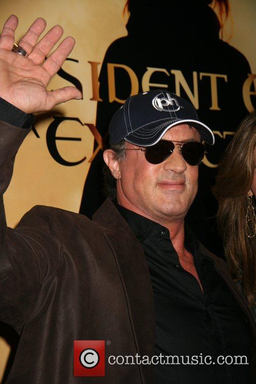 Sylvester Stallone Resident Evil: Extinction World Premiere at...