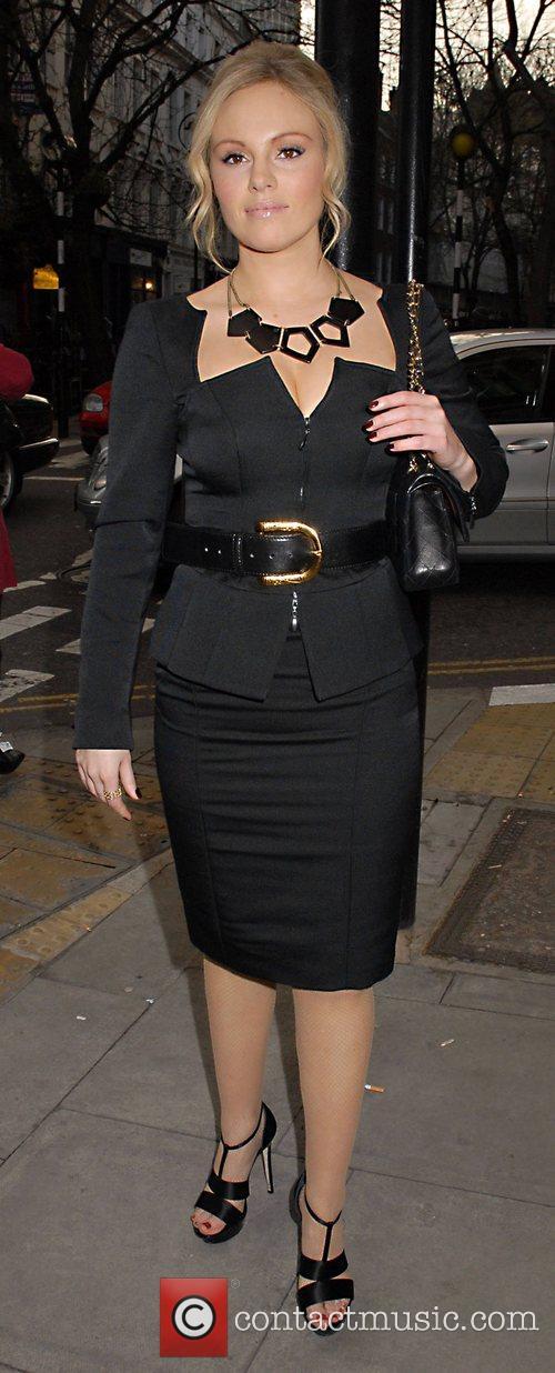 Michelle Dewberry  London Restaurant Week Launch Party...