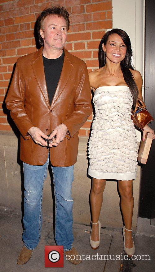 Guests leaving the launch party of London Restaurant...