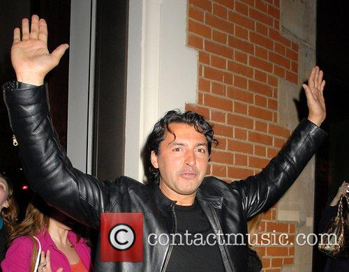 Jean Christophe Novelli leaving the launch party of...