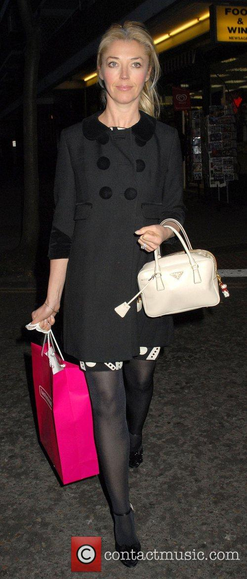 Leaving the launch party of London Restaurant Week...