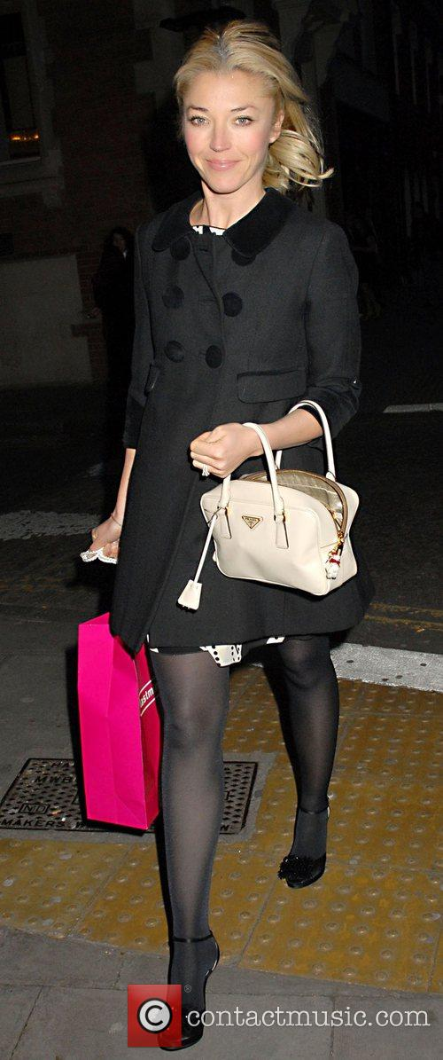 Tamara Beckwith leaving the launch party of London...