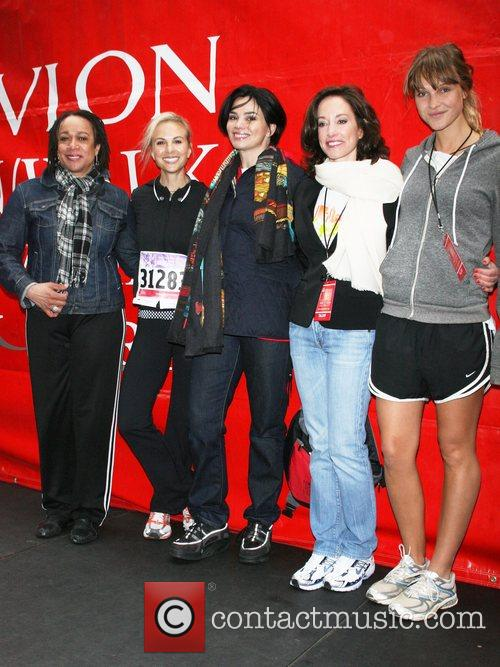 S Epatha Merkerson, Elisabeth Hasselbeck and Lilly Tartikoff 4