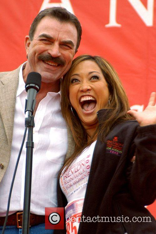 Tom Selleck and Carrie Anne Inaba 15th Annual...