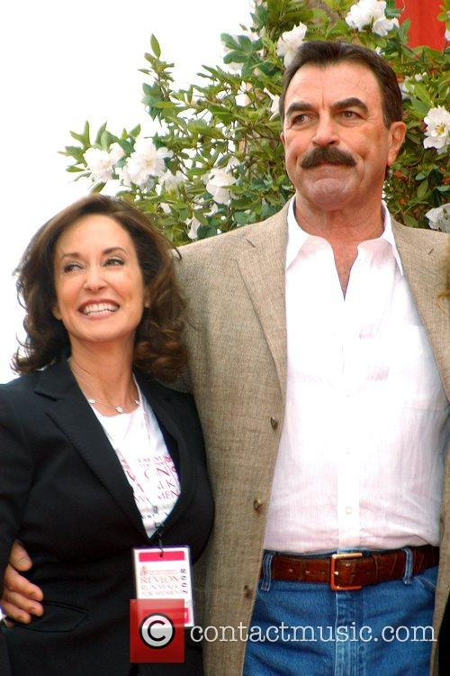 Tom Selleck and guest 15th Annual EIF Revlon...