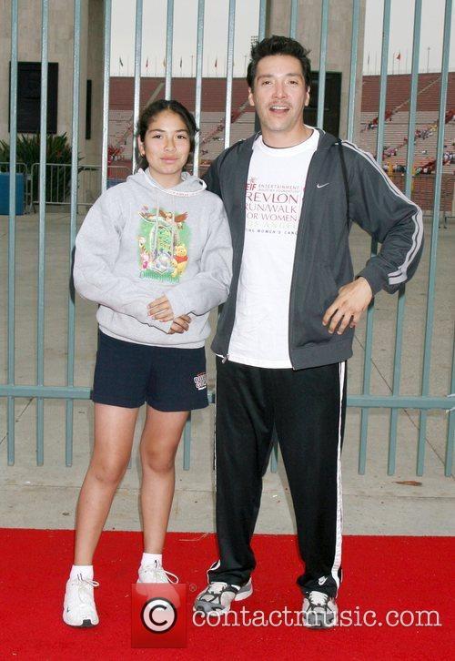 Guest, Benito Martinez 15th Annual EIF Revlon Run/Walk...