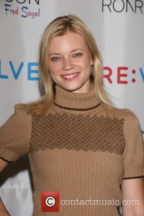 Amy Smart Launch of the RE:VOLVE Apparel Project...