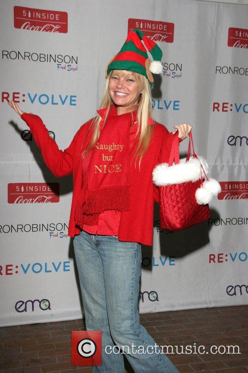 Julie McCullough Launch of the RE:VOLVE Apparel Project...