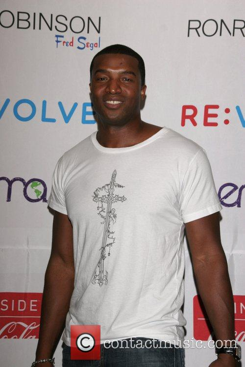 Roger Cross Launch of the RE:VOLVE Apparel Project...