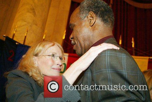 Mia Farrow and Danny Glover 6