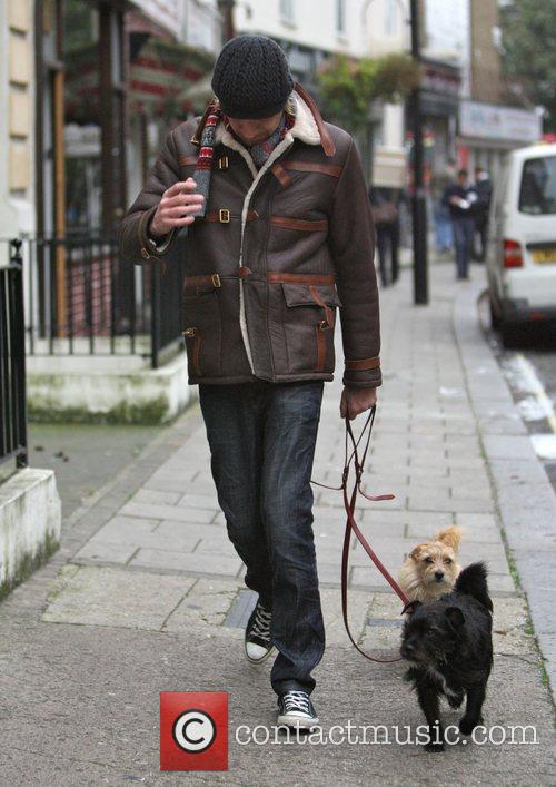 Takes Sienna Miller's dogs Porgy and Bess for...