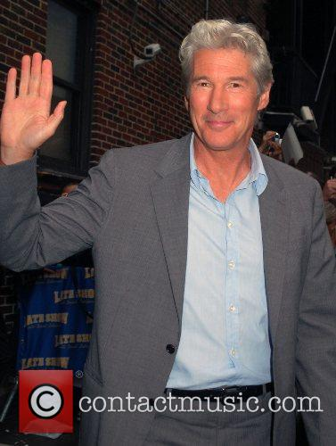 Richard Gere and David Letterman 3