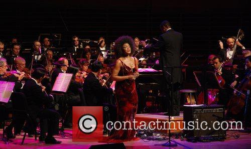 Measha Brueggergosman performing at The Marian Anderson Award...