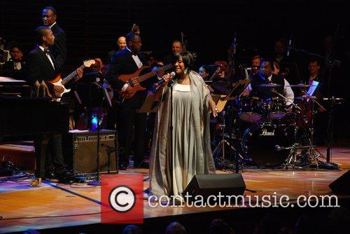 Patti LaBelle performing at The Marian Anderson Award...