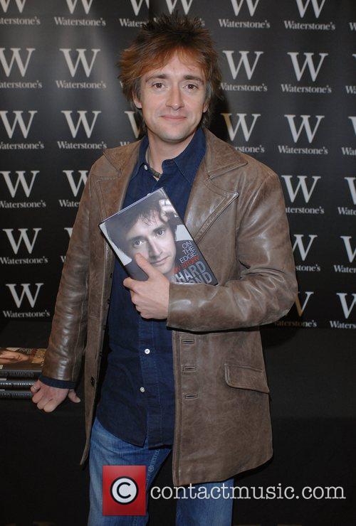 Richard Hammond book signing 'On The Edge'...