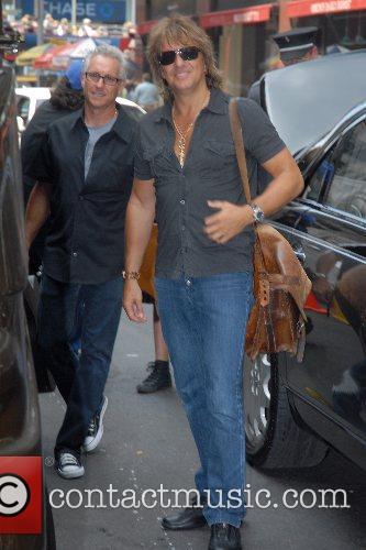 Richie Sambora arrives at his Manhattan hotel New...