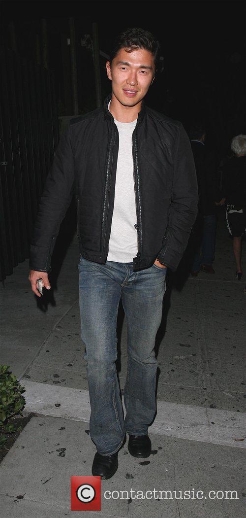 Rick Yune leaving Koi restaurant Los Angeles, Califirnia