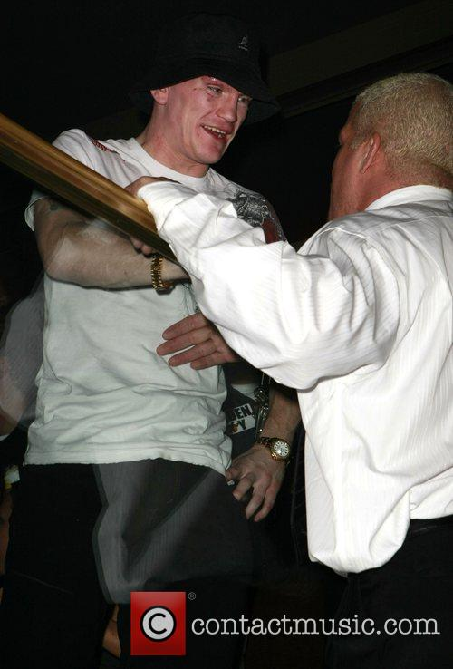 Ricky Hatton and Tito Ortiz Just hours after...