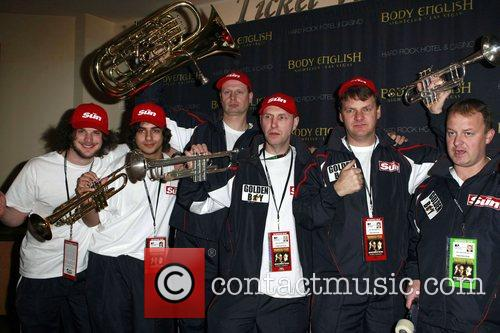 Atmosphere Ricky Hatton's official post-fight party, held at...