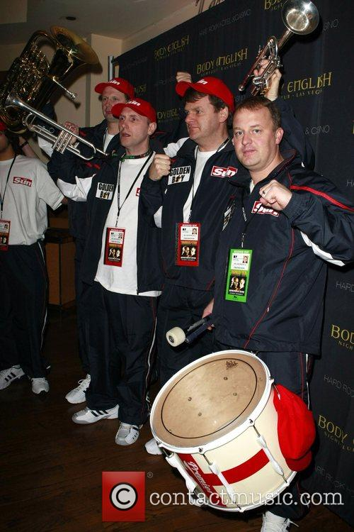Ricky Hatton's official post-fight party, held at Body...