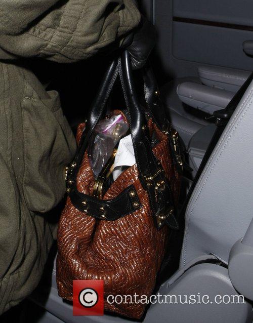 Rihanna  leaving the Hyatt Hotel on Potsdamer...