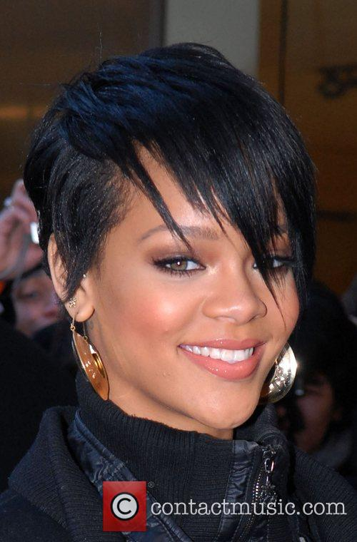 Rihanna The launch of the new H&M store...