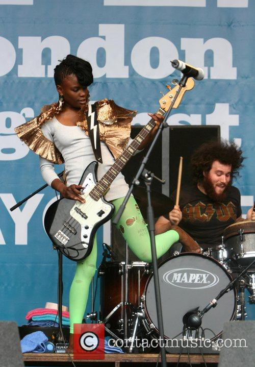 The Noisettes, Rise Festival