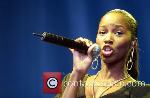 Jamelia Rise Festival in aid of combatting rascism...