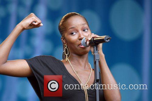 Jamelia Rise Festival in aid of combatting racism...