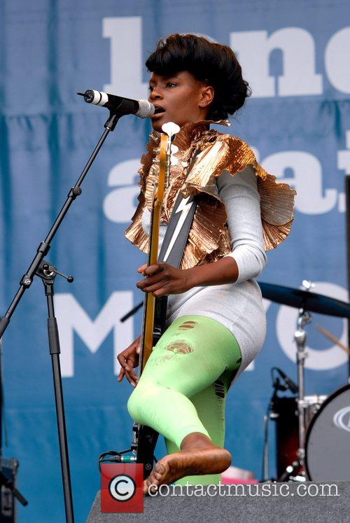 Noisettes Rise Festival in aid of combatting racism...
