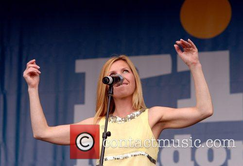 Sarah Cracknell from Saint Etienne Rise Festival in...