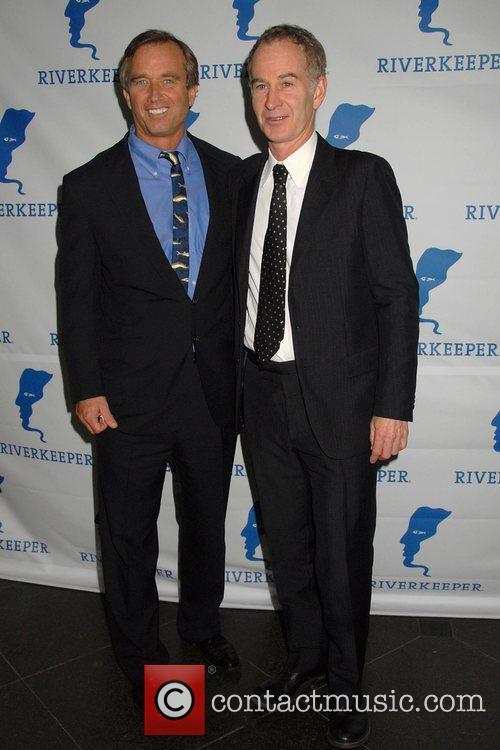 Robert F. Kennedy, Jr. and John McEnroe 2008...