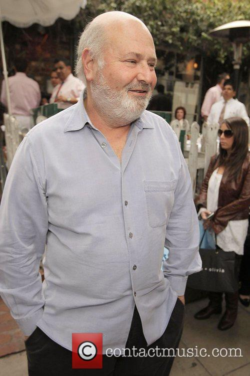 Rob Reiner leaving the Ivy restaurant Los Angeles,...