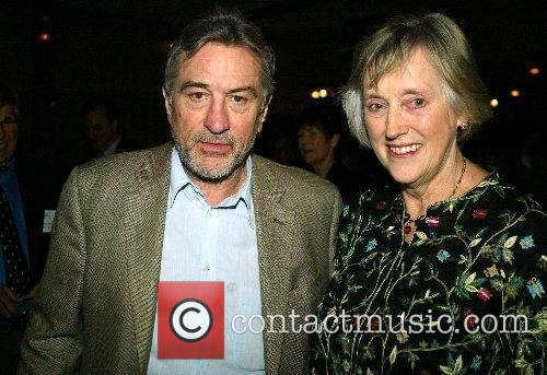 Robert DeNiro  came to support the spies...