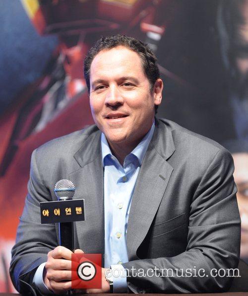 Director Jon Favreau  'Iron Man' Press conference...