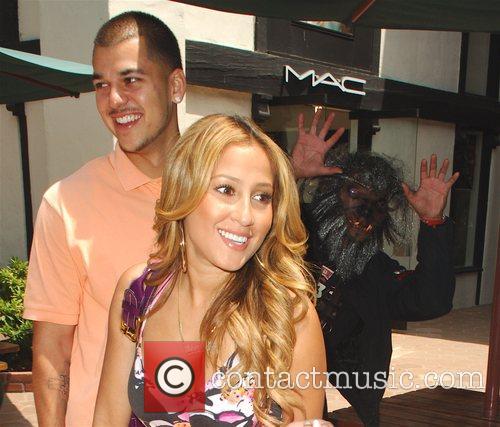 Robert Kardashian Jr and Adrienne Bailon 6