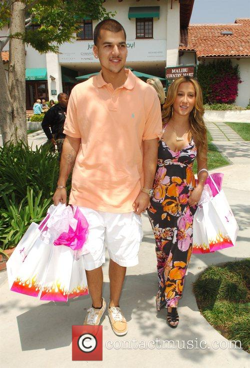 Robert Kardashian Jr and Adrienne Bailon 7