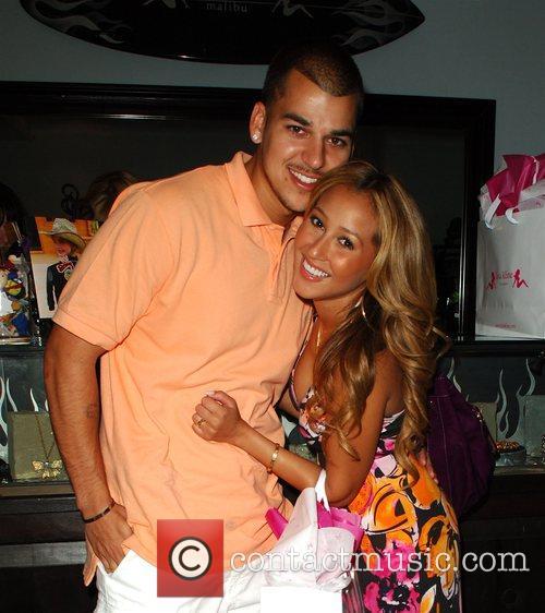 Robert Kardashian Jr and Adrienne Bailon 9