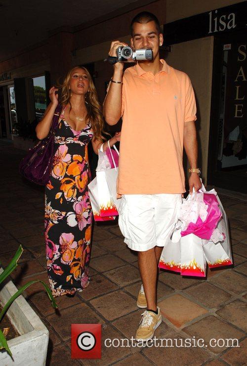 Robert Kardashian Jr and Adrienne Bailon 11